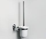 Toilettenbürstengarnitur mit Wandhalterung